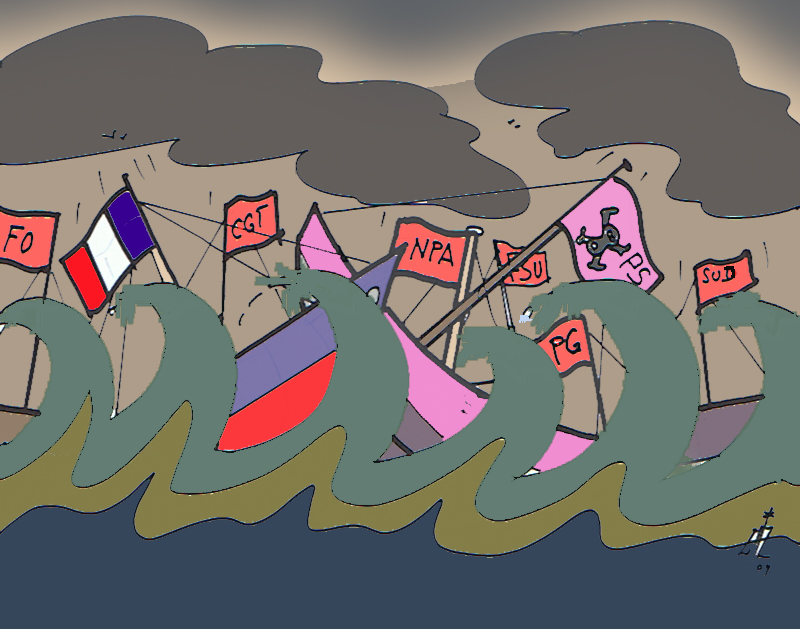 Tempête économique 10 02 09
