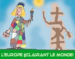 Europe éclairanr le monde 31 05 09