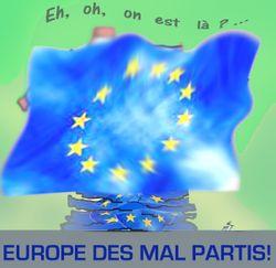 Europe des mal partis 8 06 09