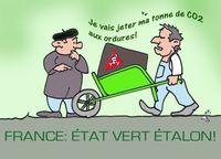 France étatvert étalon 8 09 09