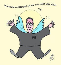 7 Hollande au Bourget 25 01 12