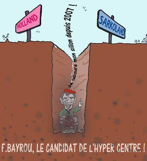 13 F Bayrou candidat de l'hyper centre  14 02 12