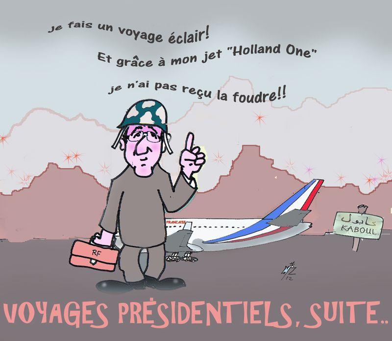 46 Voyages présidentiels suite  26 05 12
