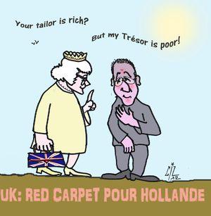 5 UK Red carpet pour Hollande 11 07 12
