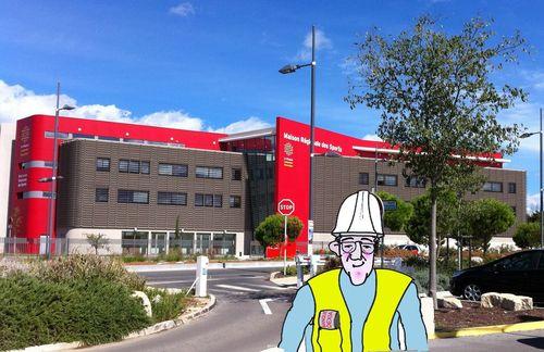 Maison des sports du Languedoc Roussillon set 2012