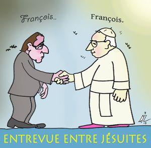 15 Entrevue entre jésuites  15 03 13