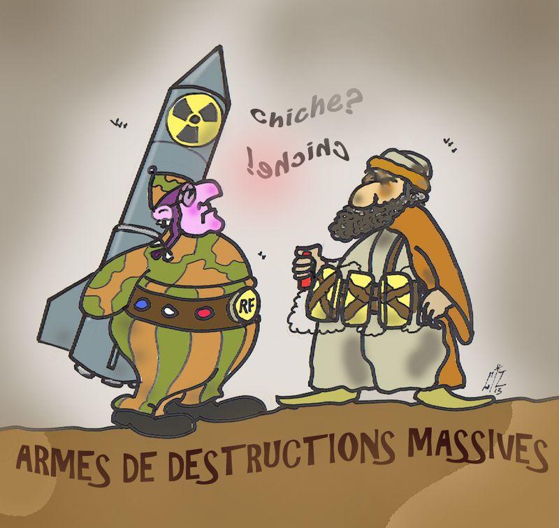 Armes de destructions massives 27 05 13