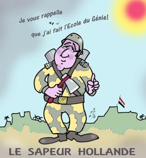 10 Le sapeur Hollande
