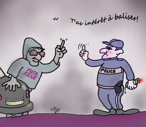 31 PLus de Balises pour les policiers 04 12 13