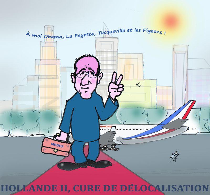11   Hollande Voyage aux US