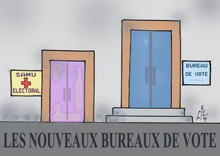20 Bureaux de vote 21 03 14