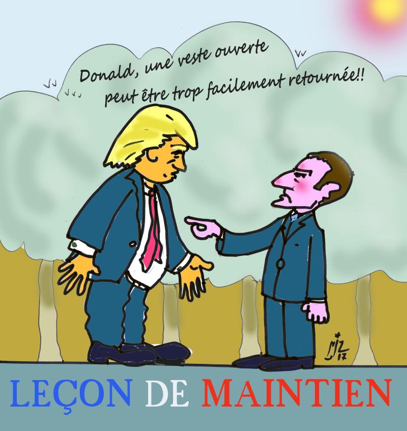 34 Macron et Trump 16 07 17