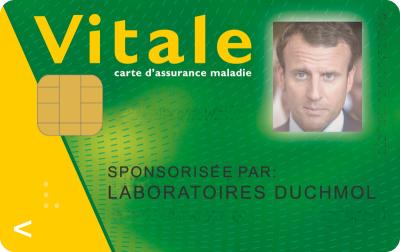 39 CarteVitale Macron 11 09 17
