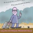 Leçon d'éthique Hollande 17 02 17