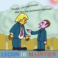 Macron et Trump 16 07 17