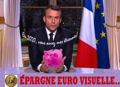Epargne euro visuelle