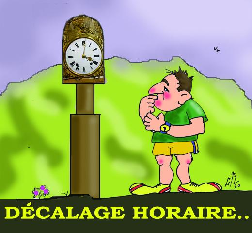 DECALAGE HORAIRE