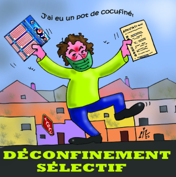 DECONFINEMENT SELECTIF