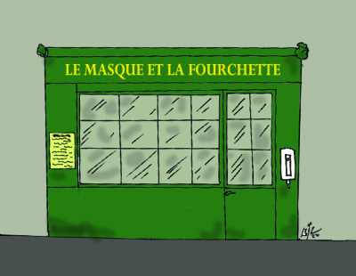 LE MASQUE ET LA FOURCHETTE 06 10 20