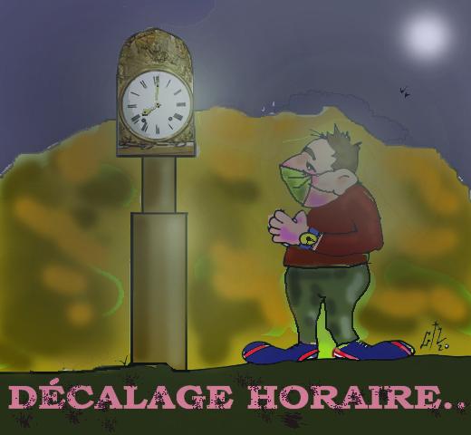 DECALAGE HORAIRE OCT