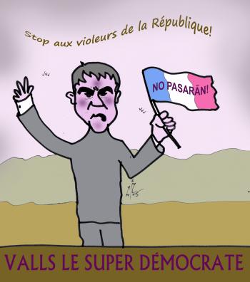 Valls super démocrate 09 12 15